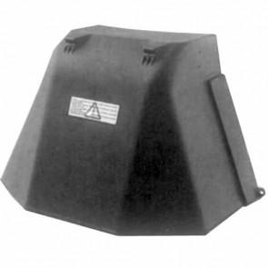 Deflector rear for CASTELGARDEN model 72 cm. Replaces original: 99900090/0 en 99900090/1.