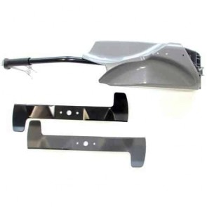Set mulching deflector and blade for CASTELGARDEN model TC92 from 2006. Replaces original: 99900070/0