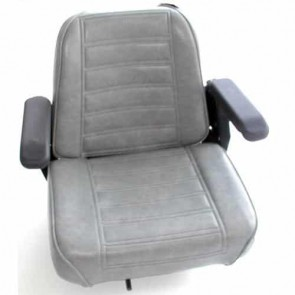 Seat GREAT COMforT, for professional machines, with arm supports and adjustable rails - Depth: 508mm, width: 476mm, height: 445mm