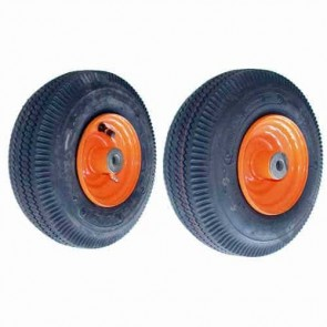Wheel with bearing for SCAG - Ø int: 15,87mm - 410 x 350 x 5 (4 PLY). Replaces original: 48537