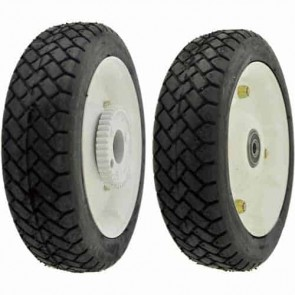 "Rear wheel for TORO / WHEEL HORSE 21"" - Ø ext: 208mm, bore: 9,52mm. Replaces original: 74-1720, 100-2860"