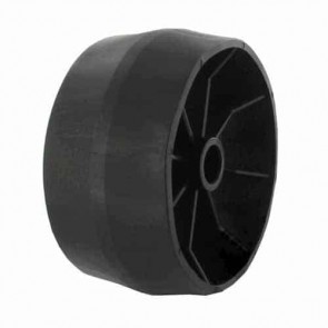 Mowing deck wheel VIKING Ø124mm, width 69,5mm for axle of 16mm. Replaces original 6155 704 9700 for machines Amm848 and AME848.