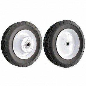 Steel wheel with pulley 42 teeth for TORO / WHEEL HORSE - Ø ext: 203mm, width: 9,52mm - bore: 12,7mm - width wheel: 44mm - Replaces original: 38-2930