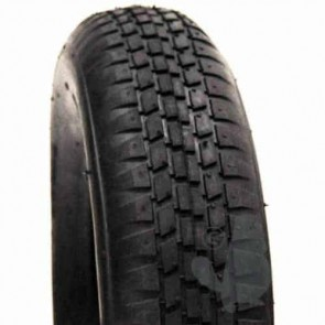 Tyre for trailers 4 PLY, only for horticulture use - Dimensions: 350 x 8 - (Mounting with inner tube)