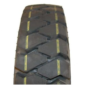 Tyre profile TYPE HF281 - 8 PLY - Dimensions: 500 x 8 - (Mounting with inner tube)