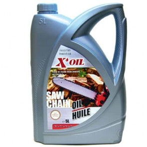 Saw chain oil X'OIL - Contents 5 liter