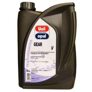Caster oil for bronze transmissions, thread bar locking systems. Contents 2 liter