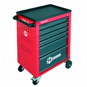 Tool trolley with 6 drawers, max contents of 210 kg - without contents - dimensions: 910mm x 628mm x 418mm