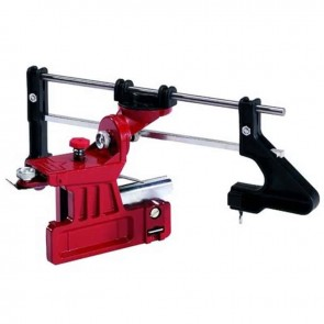 Manual chain sharpener, semi-professional. Fitted directly onto the guidebar. File not included.