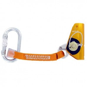 Holding device for climbing rope. 11 to 12 mm diameter. Standards : CE EN353-2