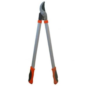 Pruning shears with pull action, for soft wood. Double material Handle. Ø cut max : 38 mm. L : 74 cm Weight : 960 g