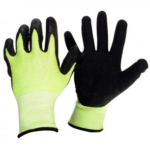Pair spandex gloves with latex anti-vibrantion coating.