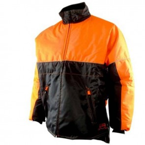 forestry jacket - Water repellant, reflective collar, polar collar, 2 zip pockets, elastic waist -  Size XL ( 58/60 )