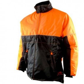 forestry jacket - Water repellant, reflective collar, polar collar, 2 zip pockets, elastic waist -  Size XXL ( 62/64 )