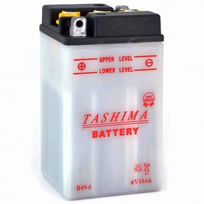 Battery 6V, 8A. L: 91, w: 83, H: 161mm, + left. (acid not included).