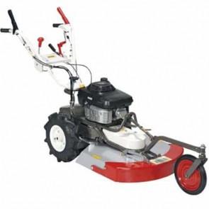 OREC SH61H - Tondeuse à gazon mulching / débroussailleuse - Moteur Kawasaki FC 180 V - 4,5 kW - 60 cm - Lame mulching - Vitesses: 3 avant + 1 arrière