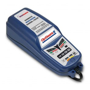 Battery charger OPTIMATE 5, for 12 V batteries - Amp: 7,5 - 120 ah - Loading charge: 2,8 A - with desulphation function.