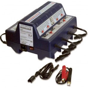Battery charger OPTIMATE PRO-8 - Total Battery management for up to 8 batteries - for 6 and 12 V batteries STD, AGM, Deep Cycle - Charges up to 8 batteries
