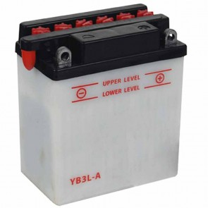 Battery 12V, 3A . L: 98, w: 56, H: 110mm, + right for motorcycles. (acid not included).