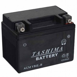 Battery 12V, 4A for scooter motorcycles L: 120, w: 70, H: 92mm, + right. (acid not included).