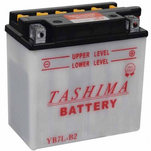 Battery reinforced 12V, 8A. L: 135, w: 75, H: 135mm, + right . (delivered without acid).