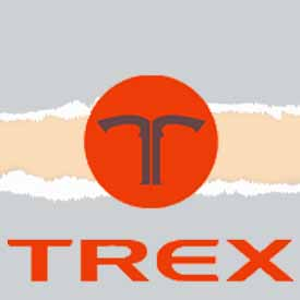 Gas mower  TREX logo